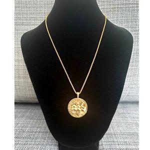 Lydell Nyc Aquarius Necklace